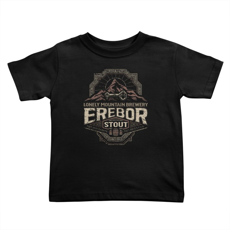 Erebor Stout Kids Toddler T-Shirt by CoryFreemanDesign