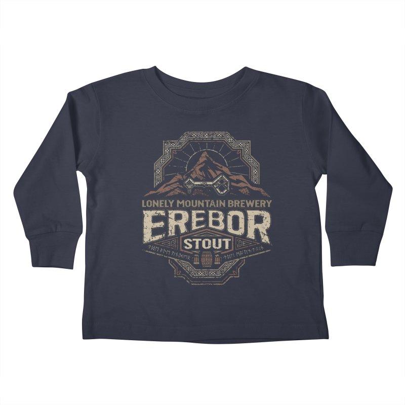 Erebor Stout Kids Toddler Longsleeve T-Shirt by CoryFreemanDesign