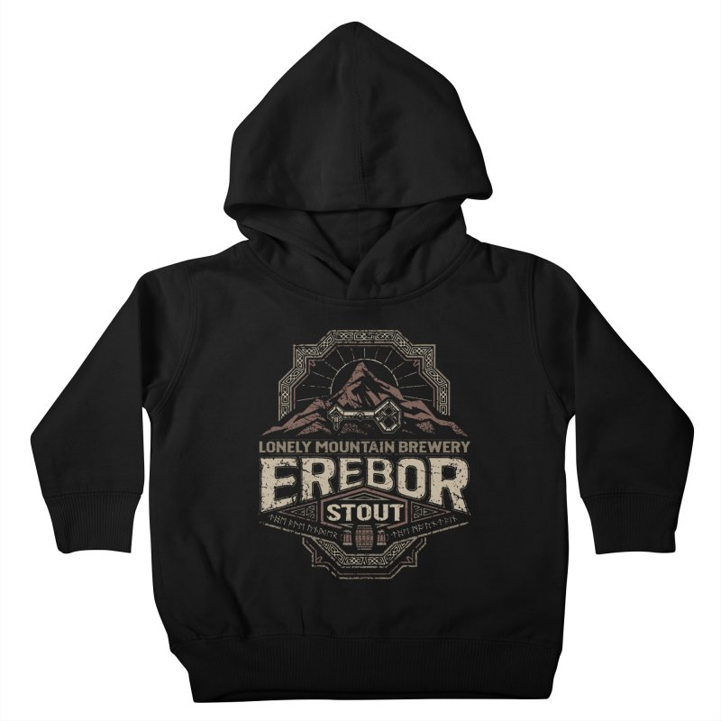 Erebor Stout Kids Toddler Pullover Hoody by CoryFreemanDesign
