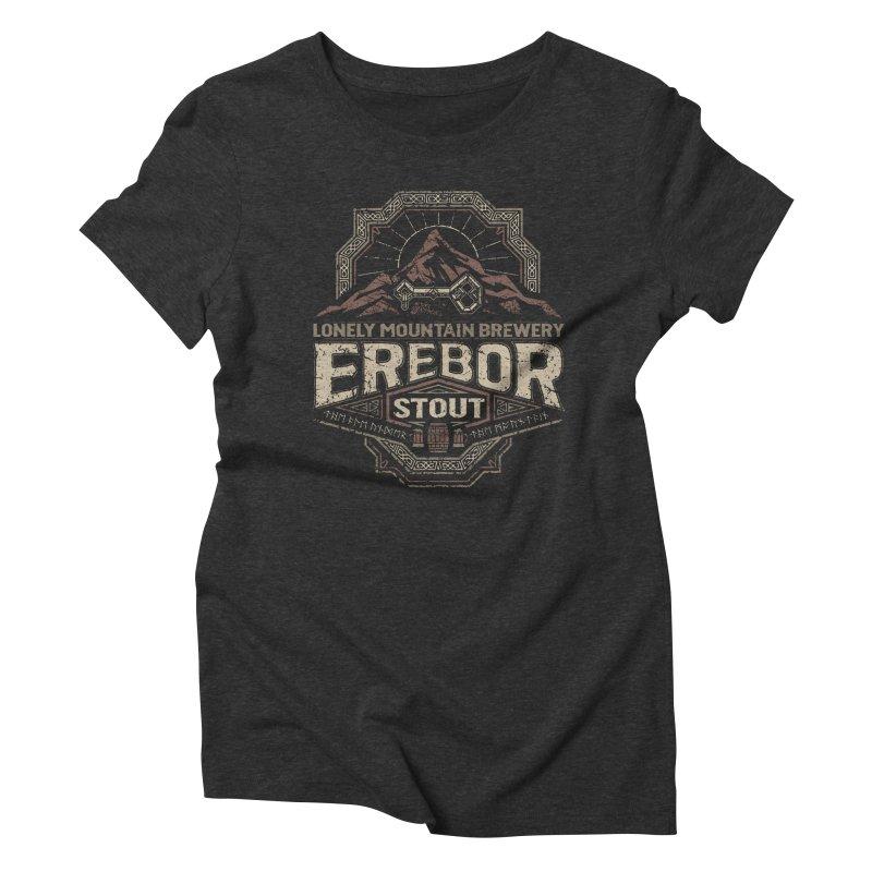 Erebor Stout Women's Triblend T-shirt by CoryFreemanDesign