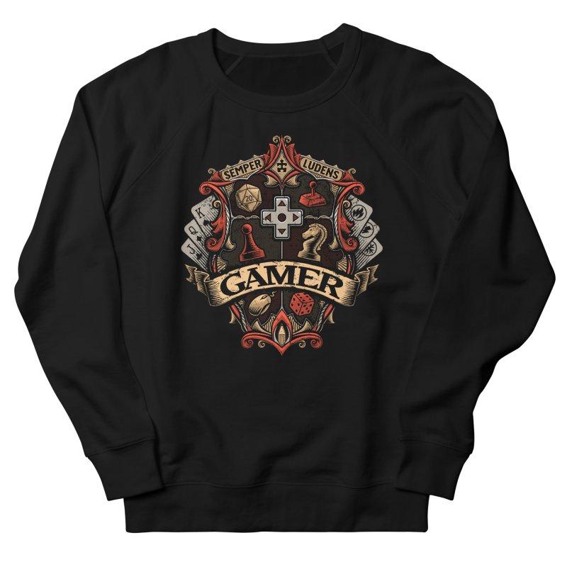 Gamer Crest Men's Sweatshirt by CoryFreemanDesign