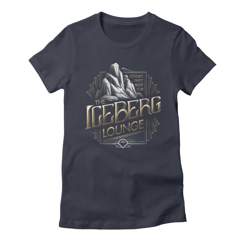Iceberg Lounge Women's Fitted T-Shirt by CoryFreemanDesign