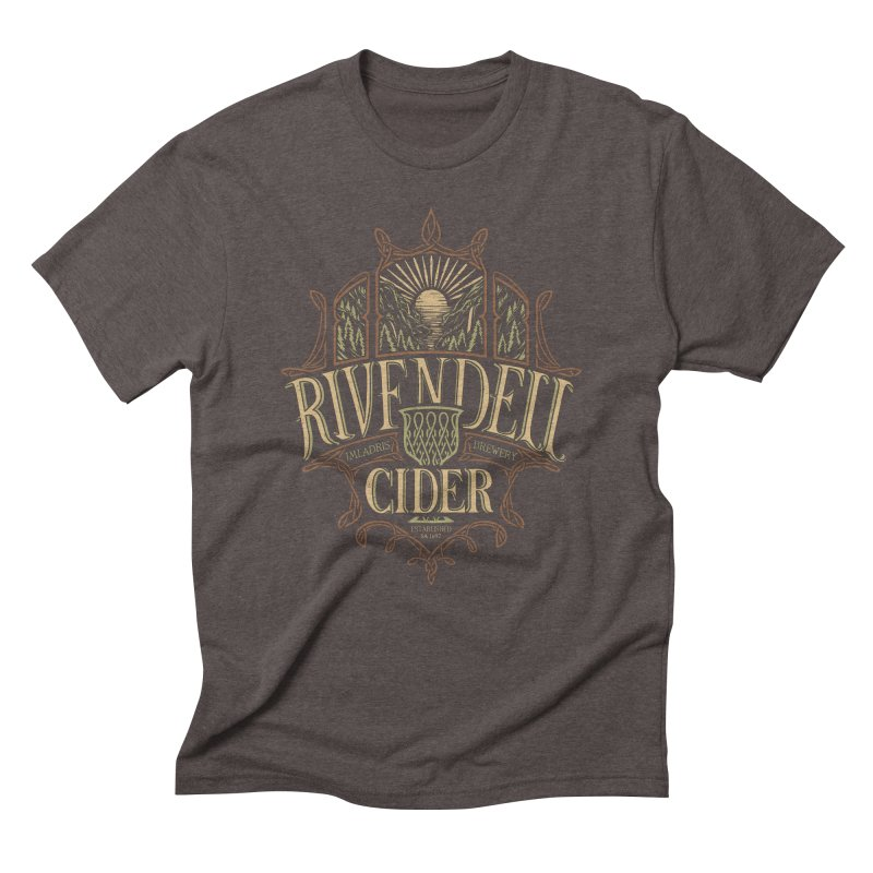 Rivendell Cider Men's Triblend T-Shirt by CoryFreemanDesign