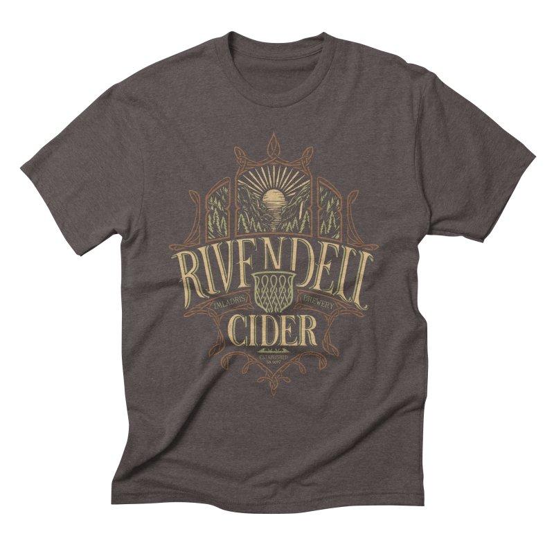 Rivendell Cider Men's Triblend T-shirt by CoryFreemanDesign