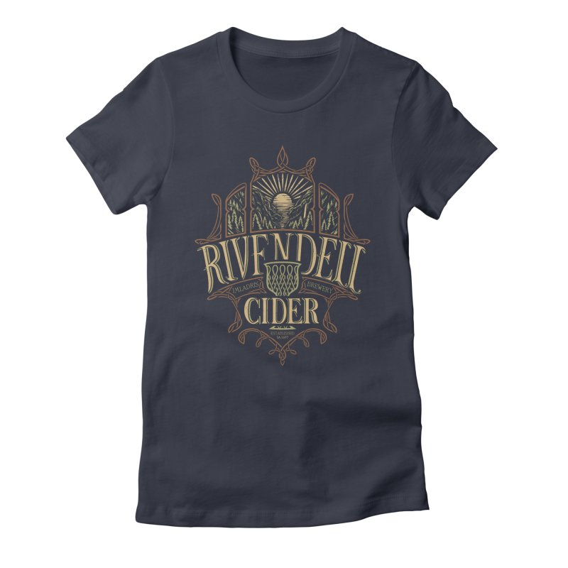 Rivendell Cider Women's Fitted T-Shirt by CoryFreemanDesign