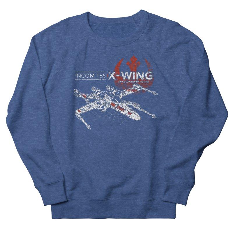 T-65 X-Wing Men's Sweatshirt by CoryFreemanDesign