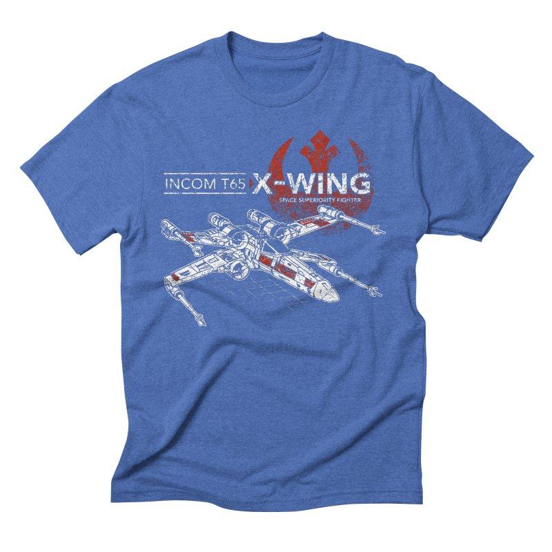 T-65 X-Wing Men's Triblend T-shirt by CoryFreemanDesign