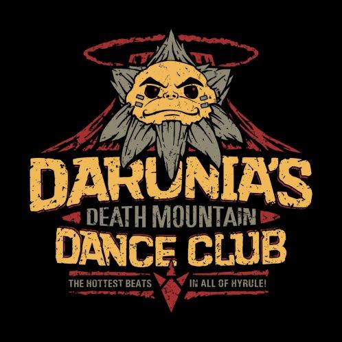 Design for Darunia's Death Mountain Dance Club