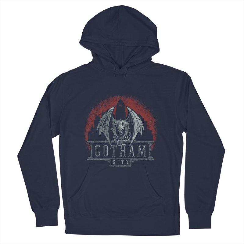 Gargoyle of Gotham Men's Pullover Hoody by CoryFreemanDesign