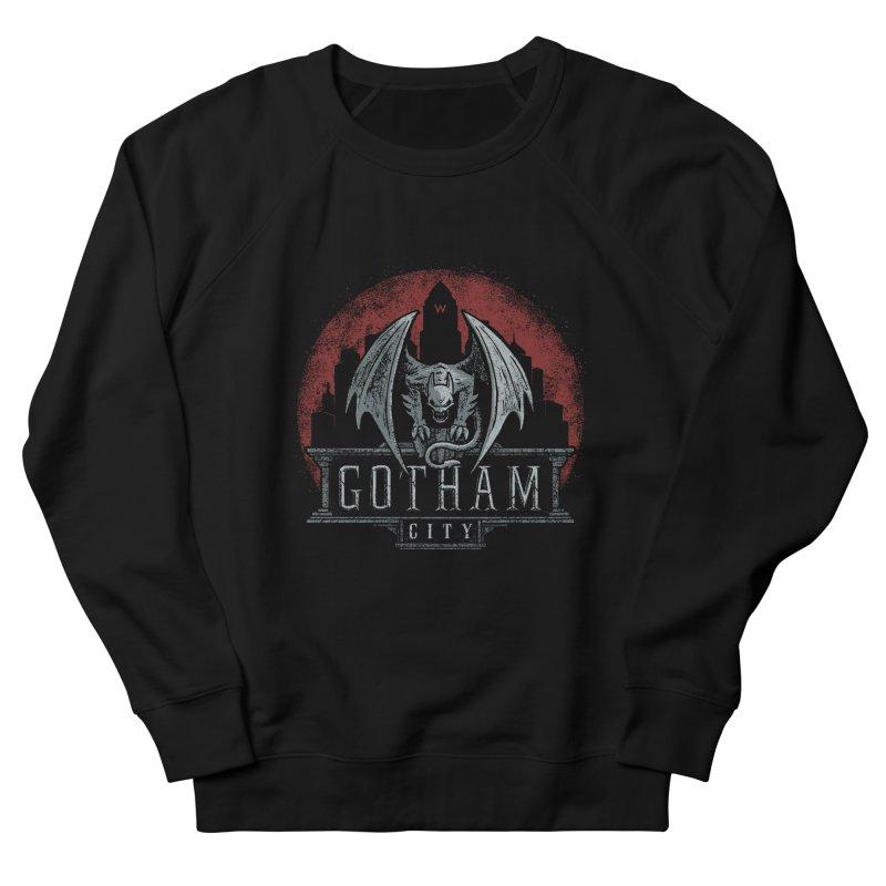 Gargoyle of Gotham Men's Sweatshirt by CoryFreemanDesign