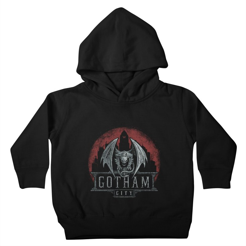 Gargoyle of Gotham Kids Toddler Pullover Hoody by CoryFreemanDesign