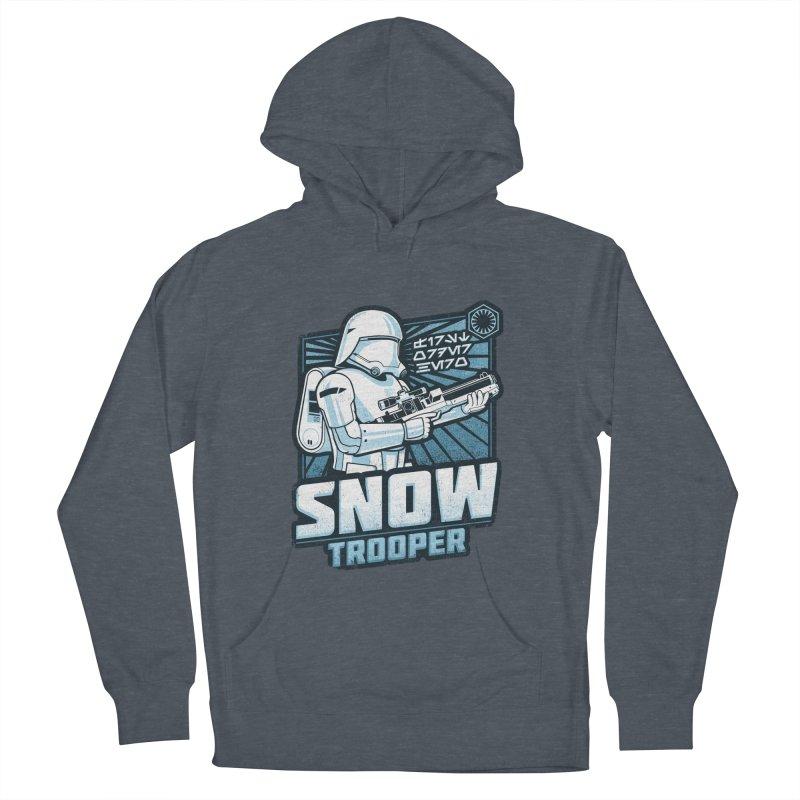 First Order Hero - Snowtrooper Women's Pullover Hoody by CoryFreemanDesign