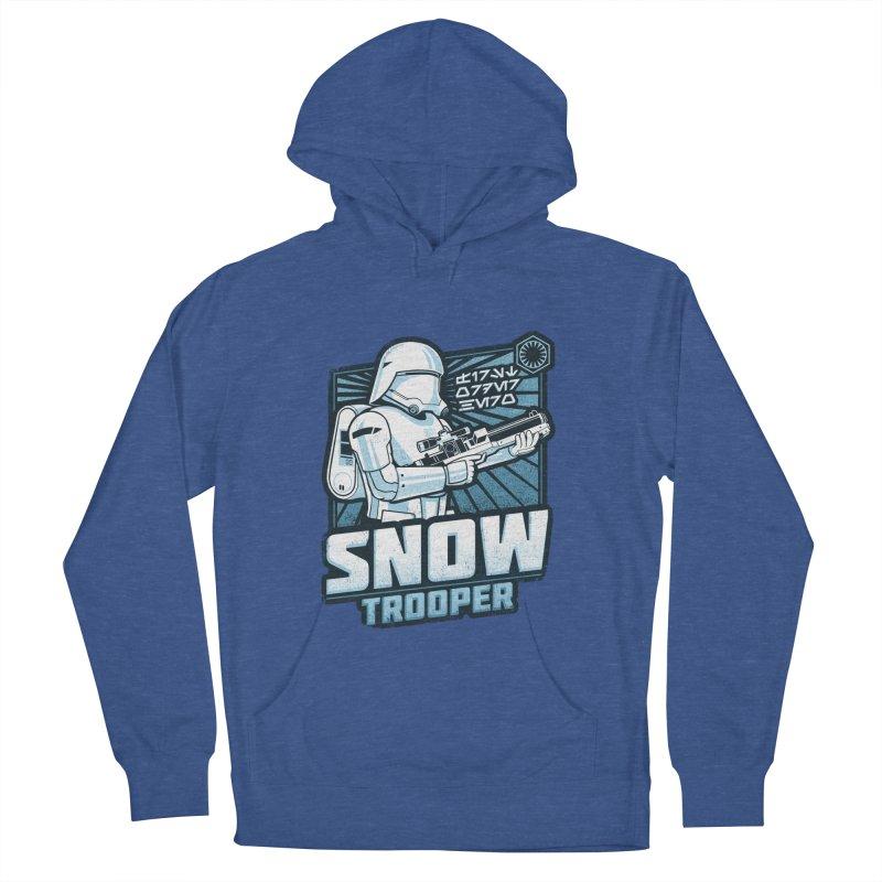 First Order Hero - Snowtrooper Men's Pullover Hoody by CoryFreemanDesign
