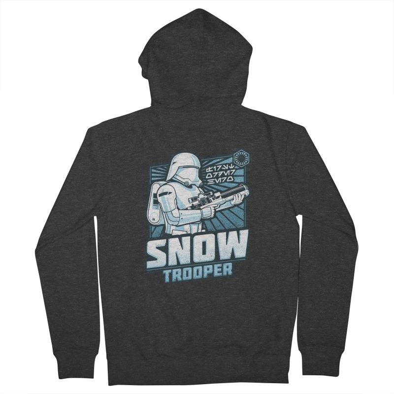 First Order Hero - Snowtrooper Women's Zip-Up Hoody by CoryFreemanDesign