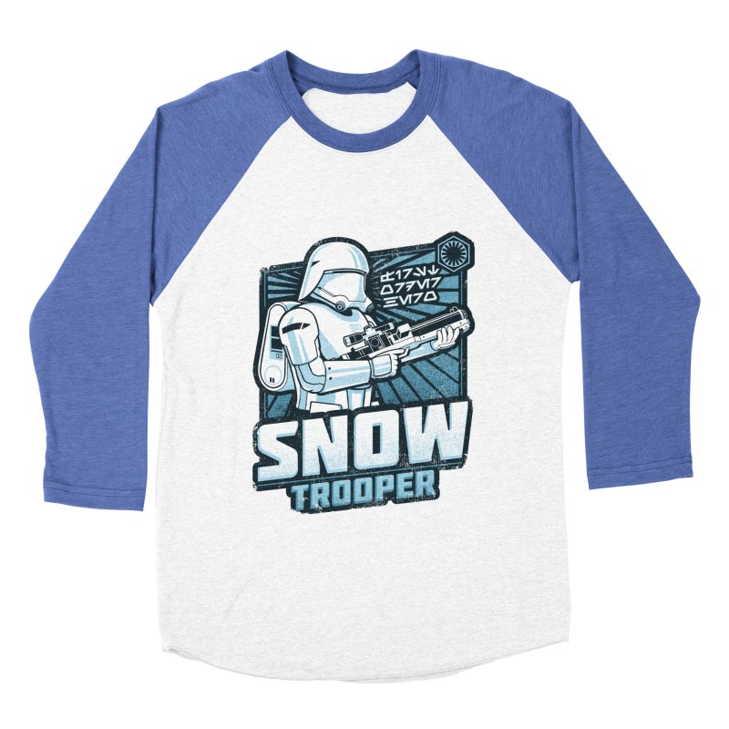 First Order Hero - Snowtrooper Women's Baseball Triblend T-Shirt by CoryFreemanDesign