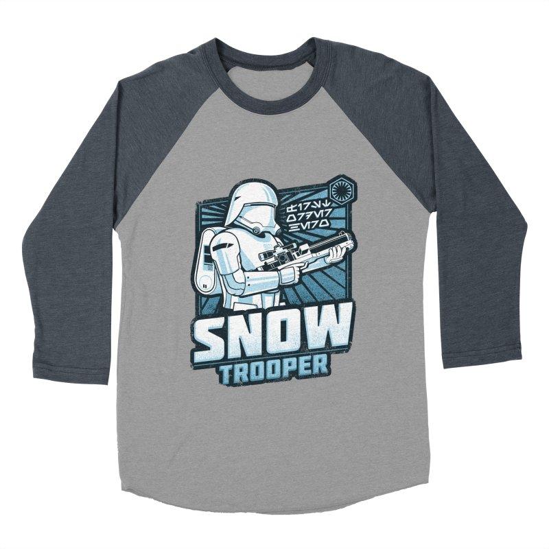 First Order Hero - Snowtrooper Women's Baseball Triblend T-Shirt by CoryFreemanDesign