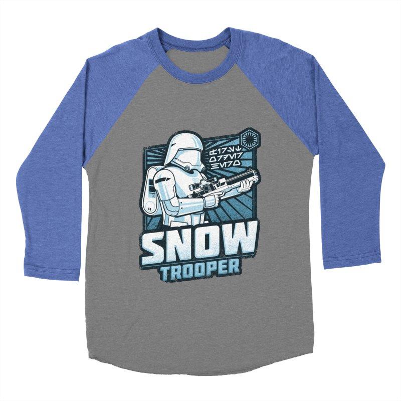 First Order Hero - Snowtrooper Men's Baseball Triblend T-Shirt by CoryFreemanDesign
