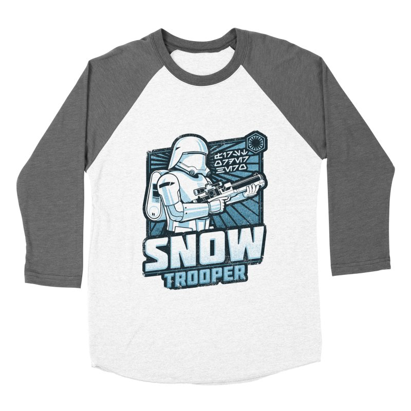 First Order Hero - Snowtrooper Men's Baseball Triblend T-Shirt by CoryFreemanDesign