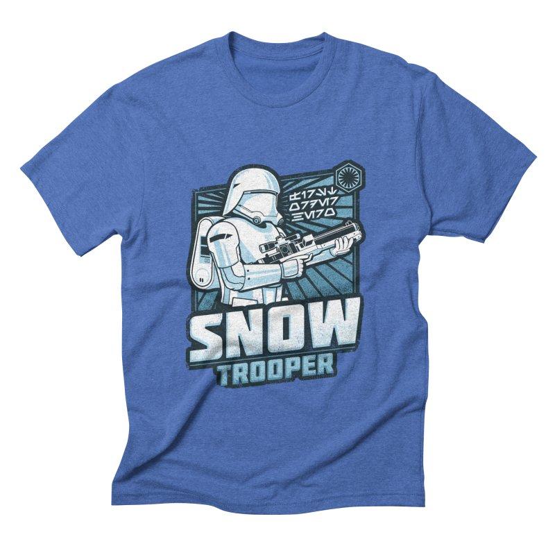 First Order Hero - Snowtrooper Men's Triblend T-shirt by CoryFreemanDesign