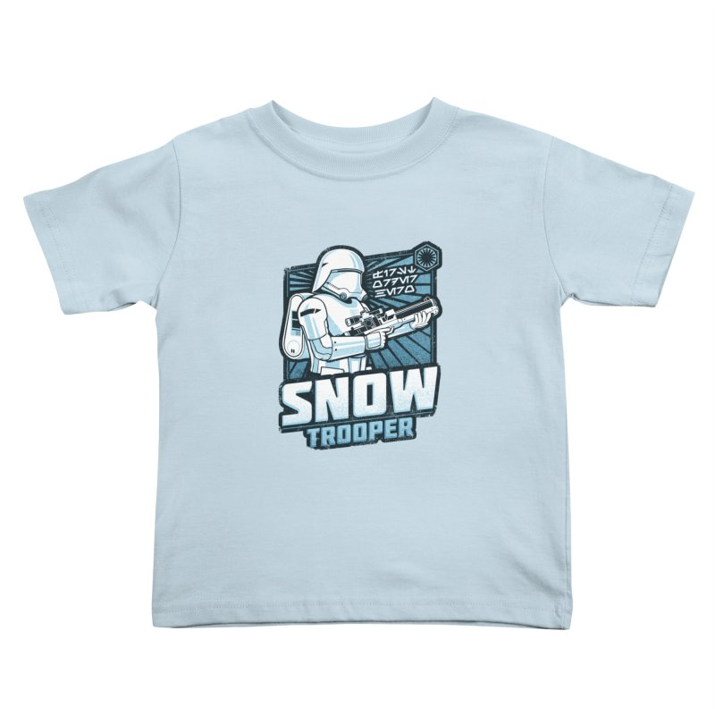 First Order Hero - Snowtrooper Kids Toddler T-Shirt by CoryFreemanDesign