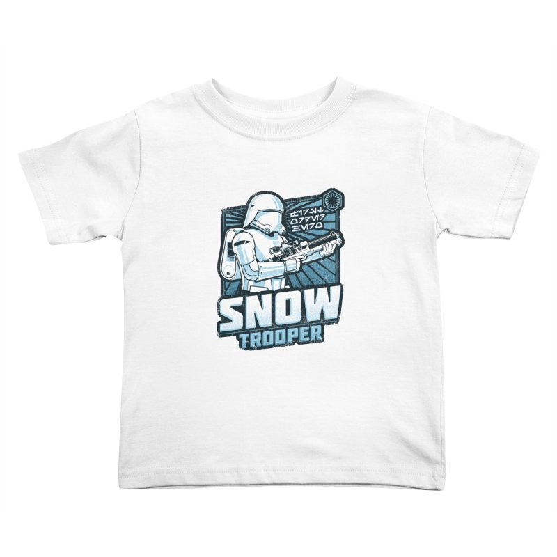 First Order Hero - Snowtrooper Kids Toddler T-Shirt by CoryFreemanDesign