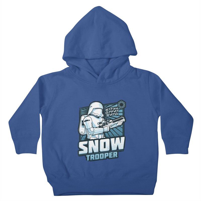 First Order Hero - Snowtrooper Kids Toddler Pullover Hoody by CoryFreemanDesign