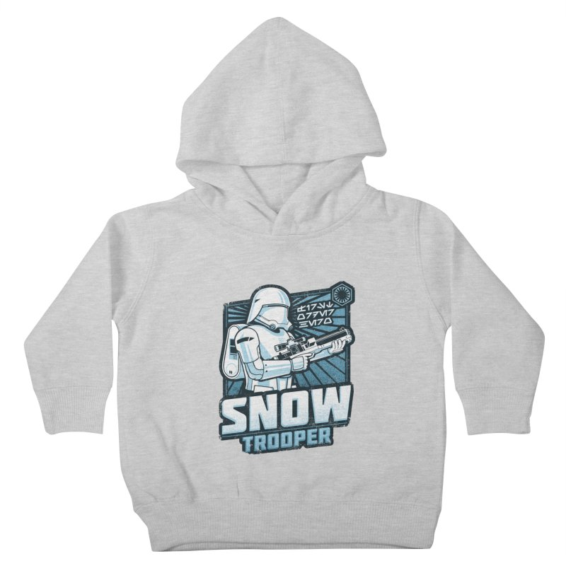 First Order Hero - Snowtrooper Kids Toddler Pullover Hoody by CoryFreemanDesign