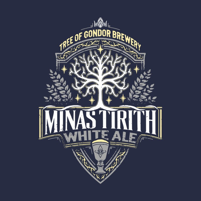MinasTirith White Ale None  by CoryFreemanDesign
