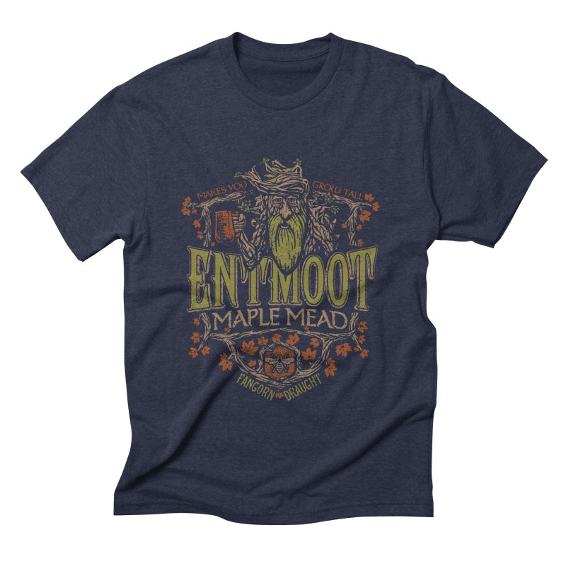 Entmoot Maple Mead Men's Triblend T-shirt by CoryFreemanDesign