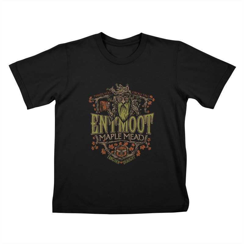 Entmoot Maple Mead Kids T-Shirt by CoryFreemanDesign