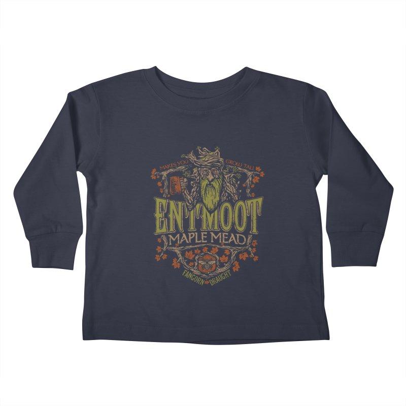 Entmoot Maple Mead Kids Toddler Longsleeve T-Shirt by CoryFreemanDesign