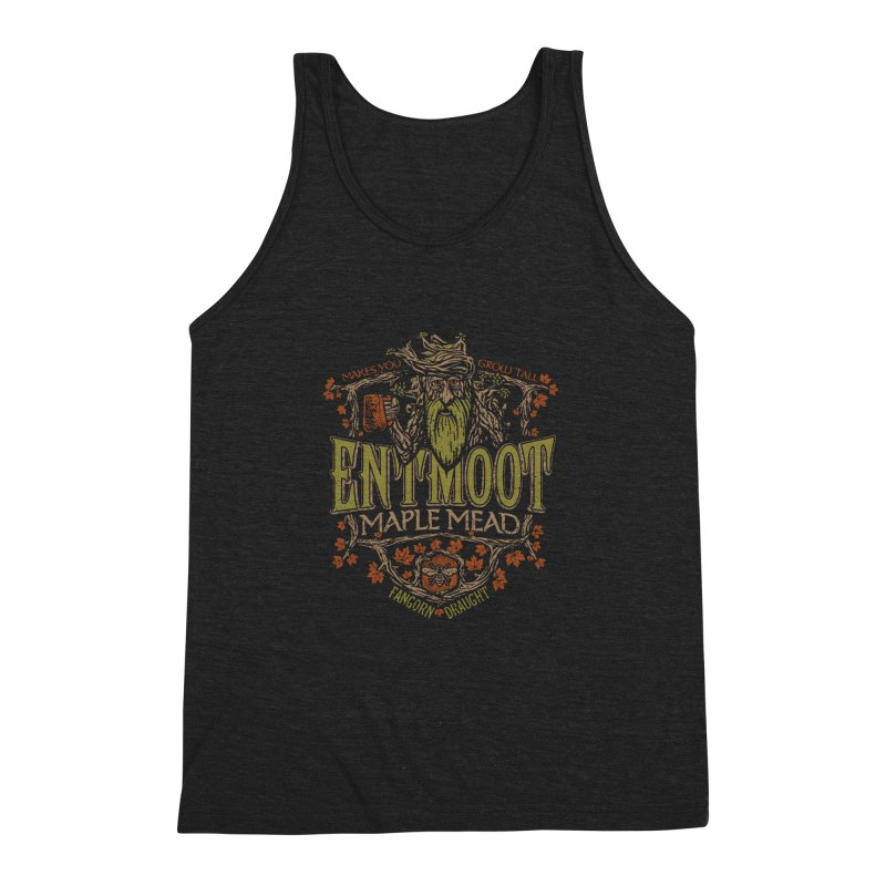 Entmoot Maple Mead Men's Triblend Tank by CoryFreemanDesign