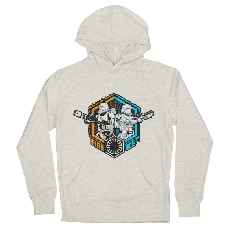 First Order Fire & Ice Women's Pullover Hoody by CoryFreemanDesign