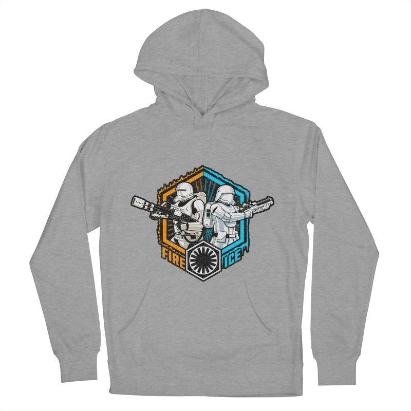 First Order Fire & Ice Men's Pullover Hoody by CoryFreemanDesign