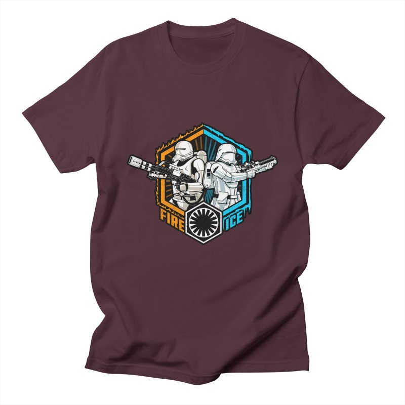 First Order Fire & Ice Men's T-Shirt by CoryFreemanDesign