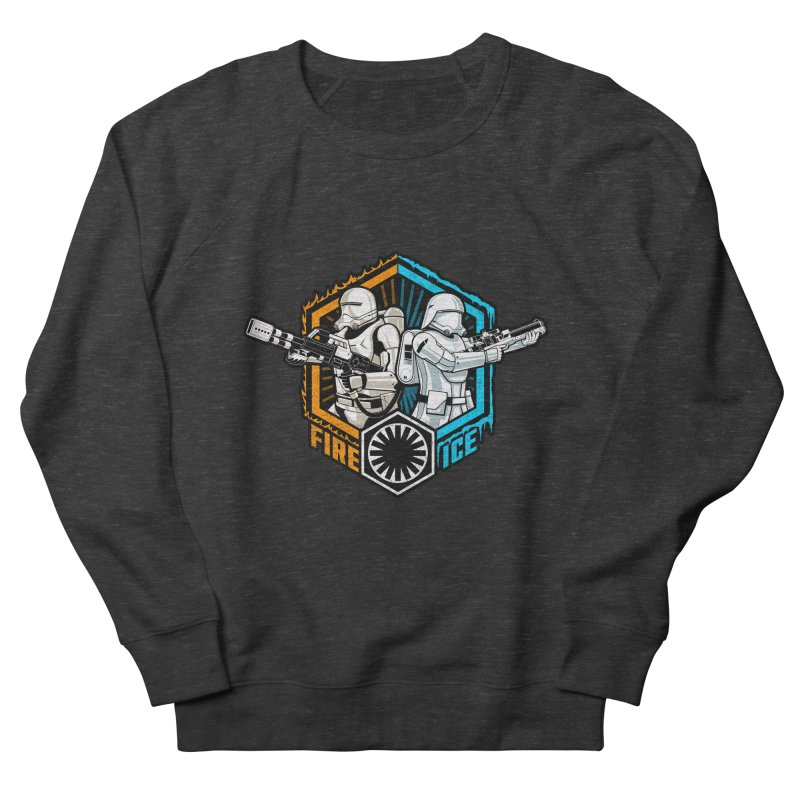 First Order Fire & Ice Women's Sweatshirt by CoryFreemanDesign