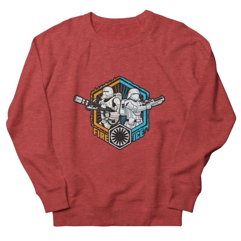 First Order Fire & Ice Men's Sweatshirt by CoryFreemanDesign