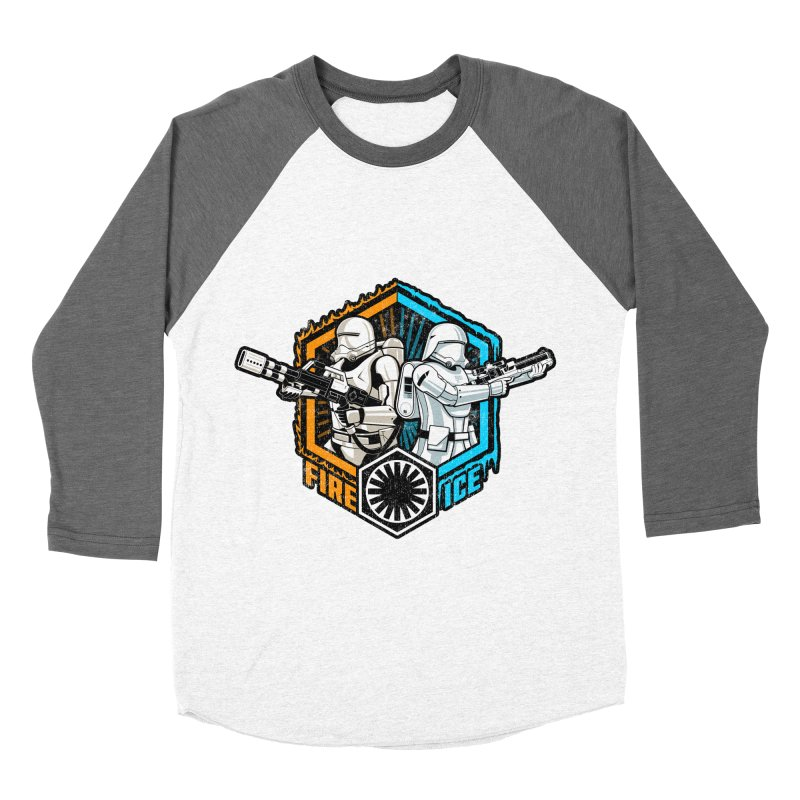 First Order Fire & Ice Women's Baseball Triblend T-Shirt by CoryFreemanDesign