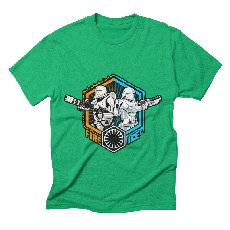 First Order Fire & Ice Men's Triblend T-shirt by CoryFreemanDesign