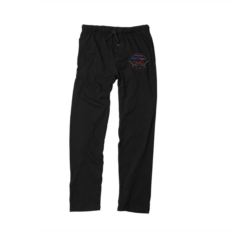 Mutant Ninja Brothers Men's Lounge Pants by CoryFreemanDesign