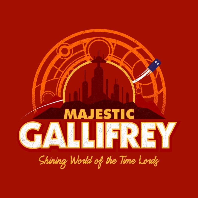 Majestic Gallifrey by CoryFreemanDesign