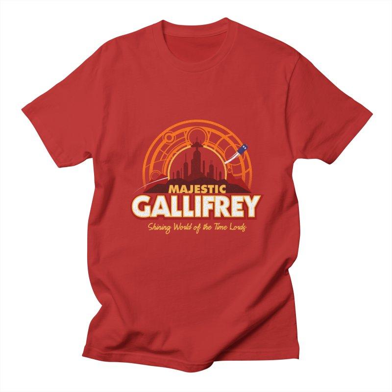 Majestic Gallifrey Men's T-shirt by CoryFreemanDesign