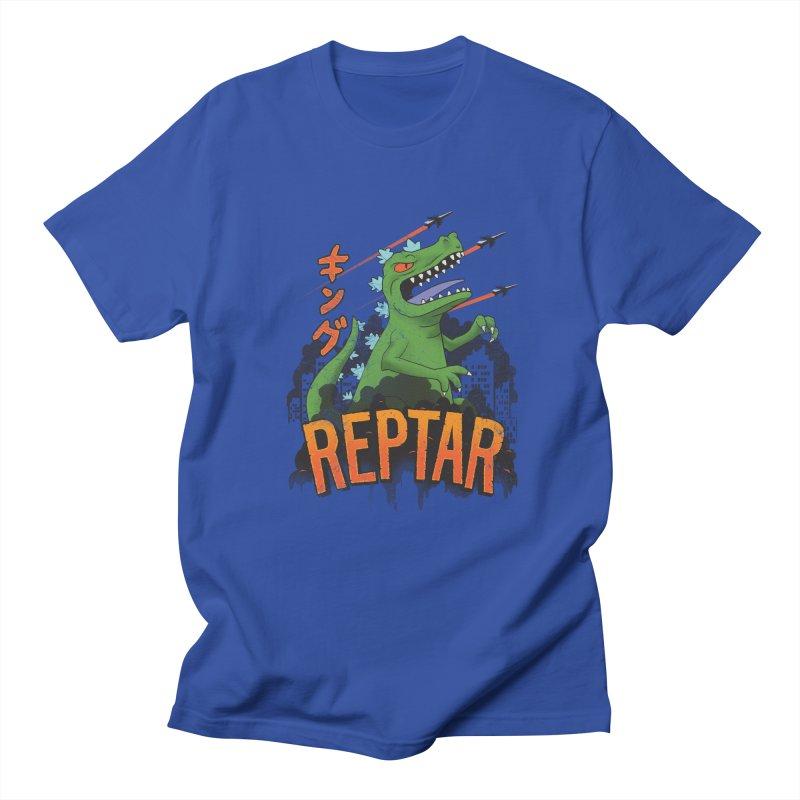 Reptar Men's T-shirt by CoryFreemanDesign