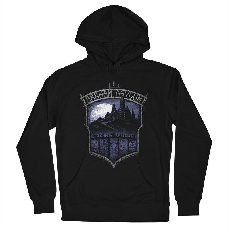 Arkham Asylum Men's Pullover Hoody by CoryFreemanDesign