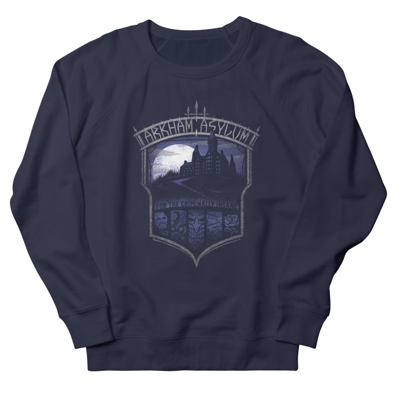 Arkham Asylum Women's Sweatshirt by CoryFreemanDesign