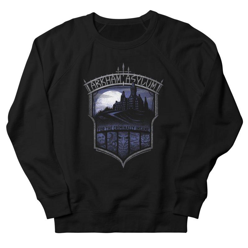 Arkham Asylum Men's Sweatshirt by CoryFreemanDesign