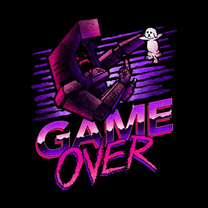 Game Over by CoryFreemanDesign