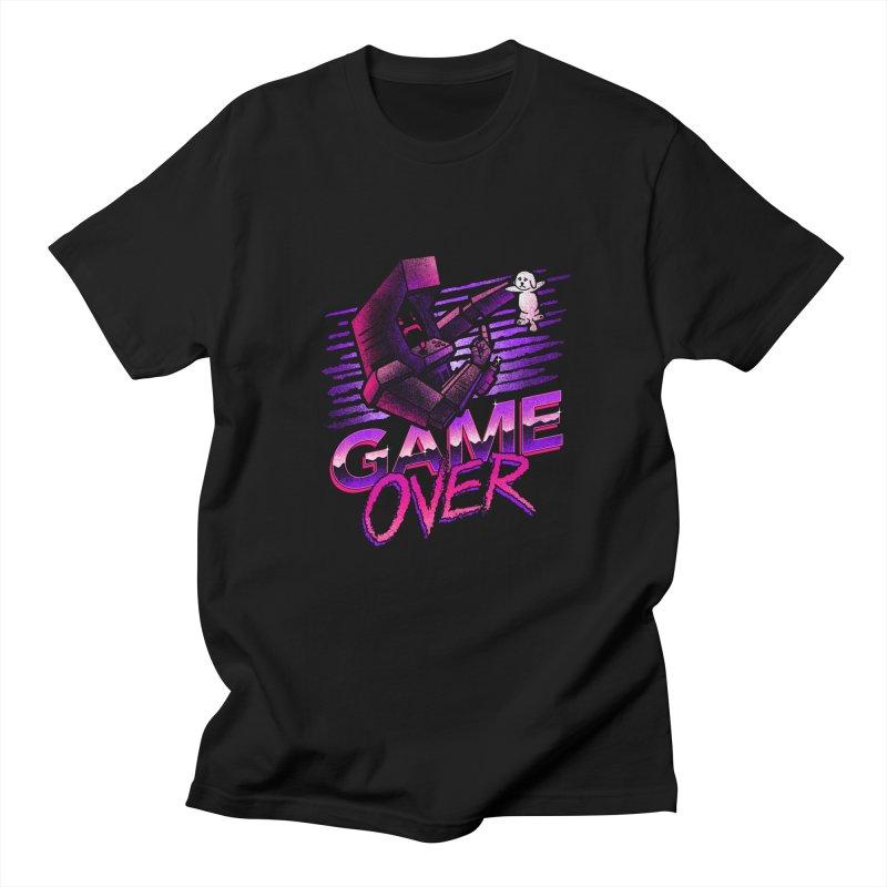 Game Over Men's T-shirt by CoryFreemanDesign