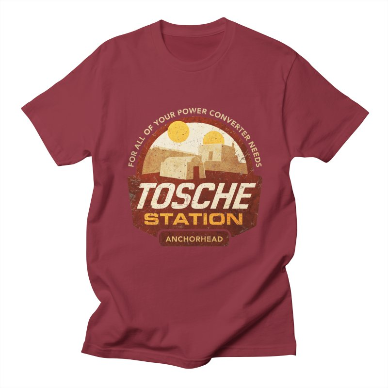 Tosche Station Men's T-shirt by CoryFreemanDesign