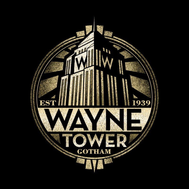 Wayne Tower by CoryFreemanDesign